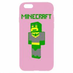 Чехол для iPhone 6/6S Minecraft Batman