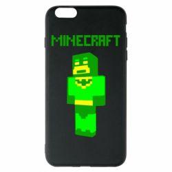 Чехол для iPhone 6 Plus/6S Plus Minecraft Batman