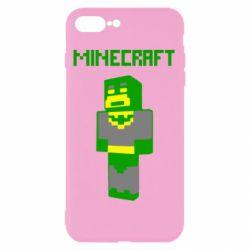 Чехол для iPhone 7 Plus Minecraft Batman