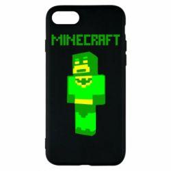Чехол для iPhone 8 Minecraft Batman