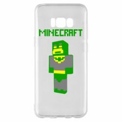 Чехол для Samsung S8+ Minecraft Batman