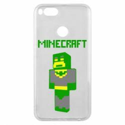 Чехол для Xiaomi Mi A1 Minecraft Batman