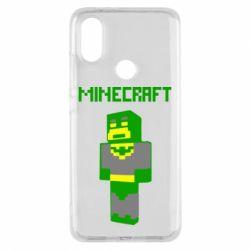 Чехол для Xiaomi Mi A2 Minecraft Batman