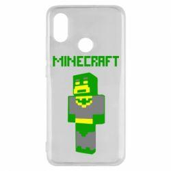 Чехол для Xiaomi Mi8 Minecraft Batman