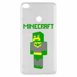 Чехол для Xiaomi Mi Max 2 Minecraft Batman