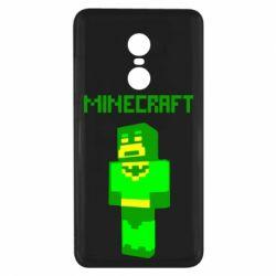 Чехол для Xiaomi Redmi Note 4x Minecraft Batman