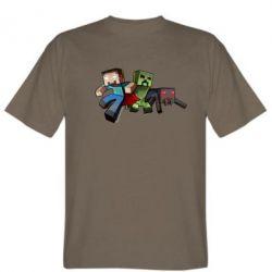 Мужская футболка Minecraft Company - FatLine