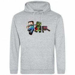 Мужская толстовка Minecraft Company - FatLine