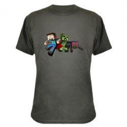 Камуфляжная футболка Minecraft Company - FatLine
