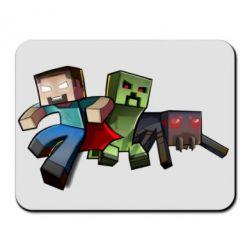 Коврик для мыши Minecraft Company - FatLine
