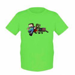 Детская футболка Minecraft Company - FatLine