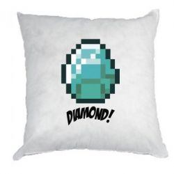 Подушка Minecraft Diamond! - FatLine