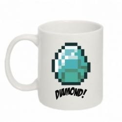Кружка 320ml Minecraft Diamond!