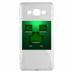 Чехол для Samsung A5 2015 Minecraft Face