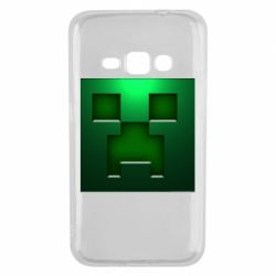 Чехол для Samsung J1 2016 Minecraft Face