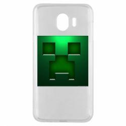 Чехол для Samsung J4 Minecraft Face