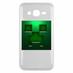 Чехол для Samsung J5 2015 Minecraft Face