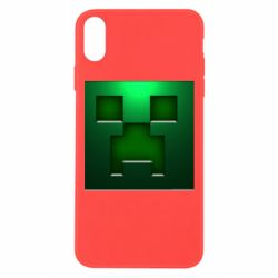 Чехол для iPhone Xs Max Minecraft Face
