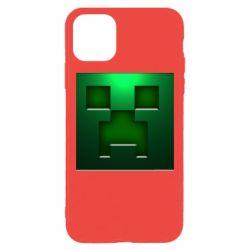 Чехол для iPhone 11 Pro Max Minecraft Face