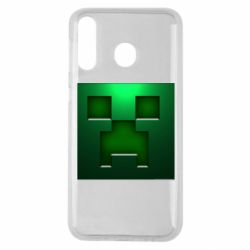 Чехол для Samsung M30 Minecraft Face