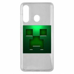 Чехол для Samsung M40 Minecraft Face
