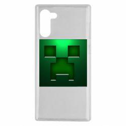 Чехол для Samsung Note 10 Minecraft Face