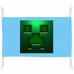 Флаг Minecraft Face
