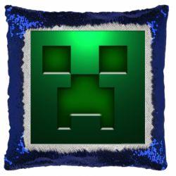 Подушка-хамелеон Minecraft Face