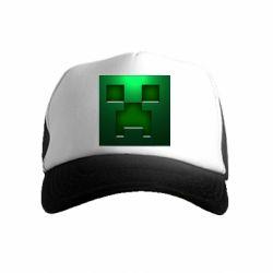 Детская кепка-тракер Minecraft Face