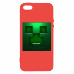 Чехол для iPhone5/5S/SE Minecraft Face
