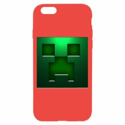 Чехол для iPhone 6/6S Minecraft Face
