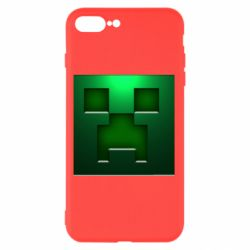 Чехол для iPhone 7 Plus Minecraft Face