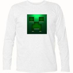 Футболка с длинным рукавом Minecraft Face - FatLine
