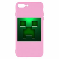 Чехол для iPhone 8 Plus Minecraft Face