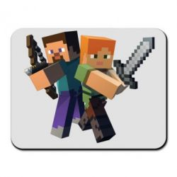 Коврик для мыши Minecraft Fan Art - FatLine