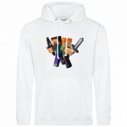 Мужская толстовка Minecraft Fan Art