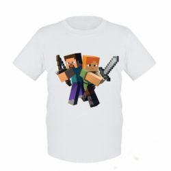 Детская футболка Minecraft Fan Art - FatLine
