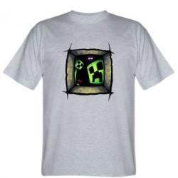 Мужская футболка Minecraft Game - FatLine