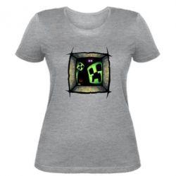 Женская футболка Minecraft Game - FatLine