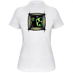 Женская футболка поло Minecraft Game - FatLine