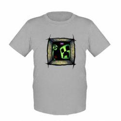 Детская футболка Minecraft Game - FatLine