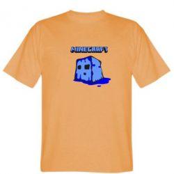 Мужская футболка Minecraft Head - FatLine