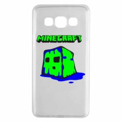 Чохол для Samsung A3 2015 Minecraft Head