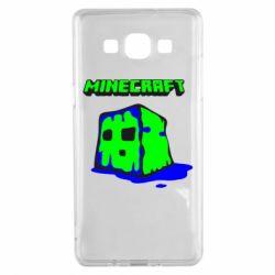 Чохол для Samsung A5 2015 Minecraft Head