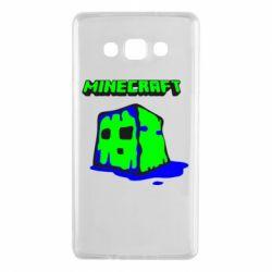 Чохол для Samsung A7 2015 Minecraft Head