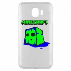 Чохол для Samsung J4 Minecraft Head