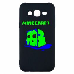 Чохол для Samsung J5 2015 Minecraft Head