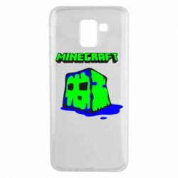 Чохол для Samsung J6 Minecraft Head