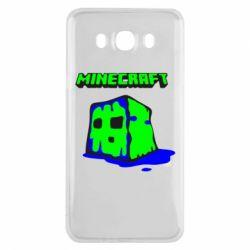 Чохол для Samsung J7 2016 Minecraft Head