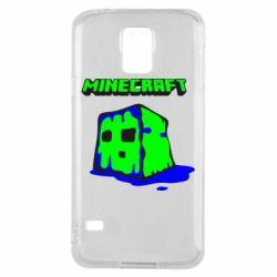 Чохол для Samsung S5 Minecraft Head